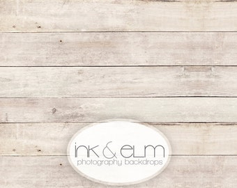 """Vinyl Backdrop 6ft x 5ft, Vinyl Wood Photography Backdrop / Floordrop, Clean light wood backdrop, photo booth background prop, """"Smooth Grit"""""""