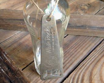 White Rock Sparkling Beverages bottle opener/vintage metal opener