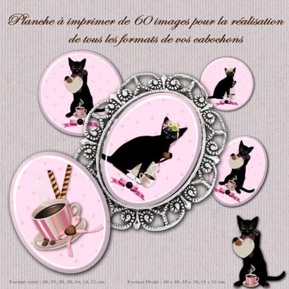 Lotto 60 immagini digitali rotonda e ovale gatto per creare i - Finestra rotonda e ovale ...