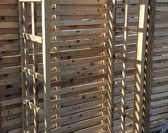 Wooden Garden Arch - 4 Rafters