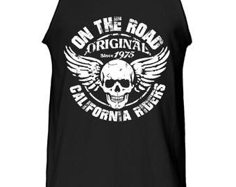 On the Road California Riders Vintage Tank Top