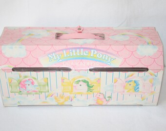 My little pony G1 carry case dutch France version