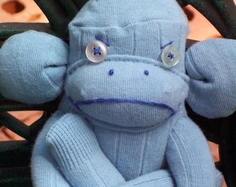 Mel The Mad Sock Monkey