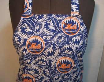 New York Met's Baseball Team Adult Apron