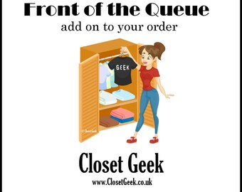 Front of the Queue - add on item to speed up dispatch of your item