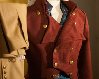 Regency Attire with a Dash of High Fashion---Tailcoats, Breeches, and Top Hats