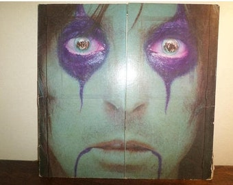 Vintage 1978 Vinyl LP Record From the Inside Alice Cooper Near Mint Condition 10876