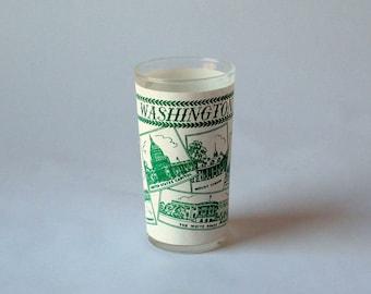Vintage Washington DC Souvenir Juice Glass