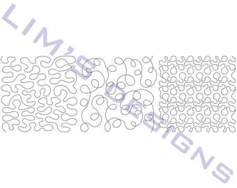 "Three Quilt Patterns N23 machine embroidery designs - 3 sizes 4x4"", 5x5"", 6x6"""
