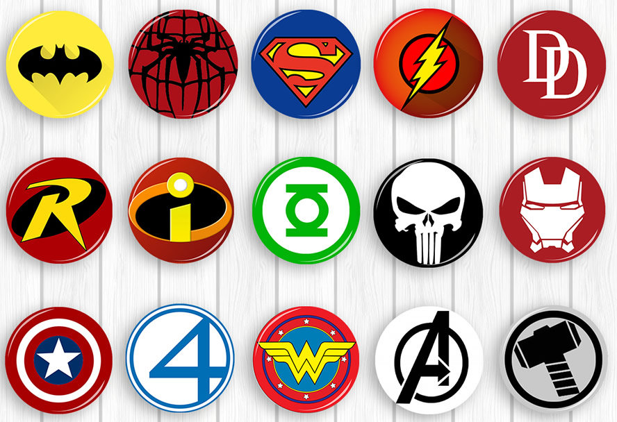Superhero Symbol Roho4senses
