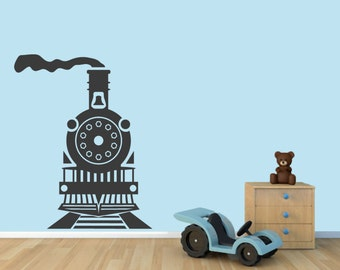 Train - Nursery and Kid's Room Wall Decals
