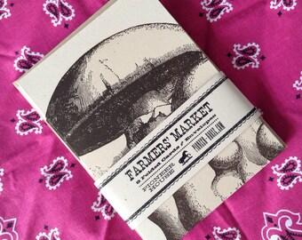 MUSHROOM CARDS LETTERPRESS pack of 8