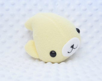 Pale Yellow Seal Plushie