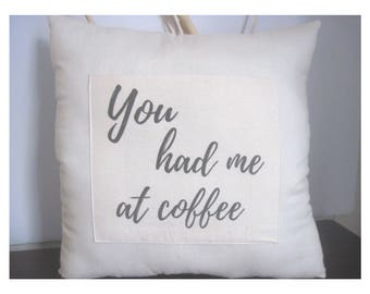 words on pillows - sayings on pillows - coffee lover gift - headrest cushion - backrest cushion - gifts for friends - office party gift