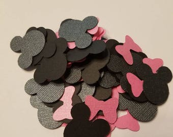 Minnie Mouse and Bow Confetti
