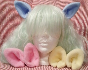 Kawaii pony cat clip on cosplay ears