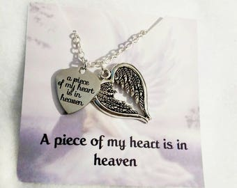 Memorial Jewelry Memorial Necklace  Sympathy Gift Remembrance Jewelry Memorial Gift