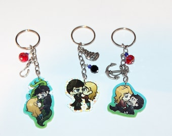 Captain Swan Chibi Key Chains