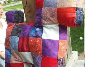 Quilted Patchwork Puppy