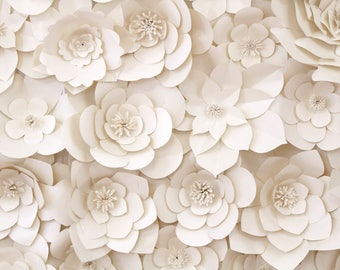 65 Paper Flower - Backdrop
