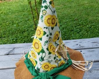 Toddler sunflower hat