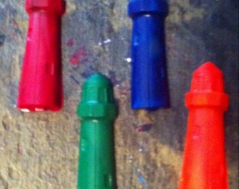 Light house crayons