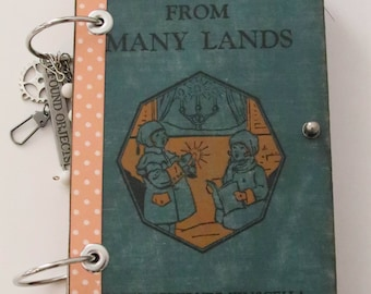 Vintage Travel JoUrNal, Daily Journal, DiArY, Mixed Media, Old and New