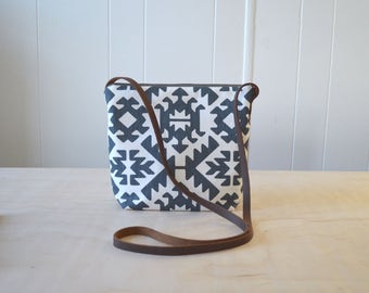 Shoulder Bag in Blueprint - Cross Body Purse