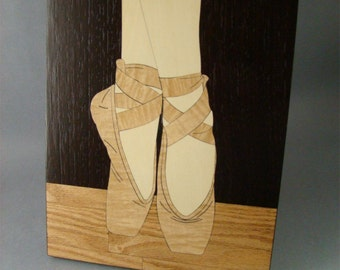 Wall Decor, of the Ballerina's Shoes.
