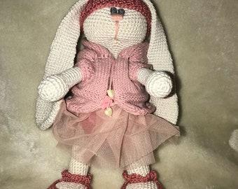 Crochet  Bunny Tilda