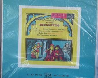Verdi's Rigoletto, Vintage Record Album, Vinyl LP, Opera Music, Historical Notes, Italian Opera, Rigoletto Narrative