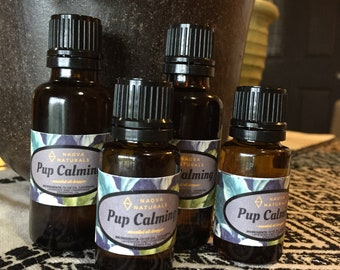 Pup Calming Droppers- 15ml & 30ml (1/2 oz and 1 oz)