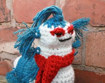SALE! Ello Worm Labyrinth Crochet Pattern