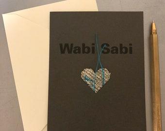 Wabi Sabi Card