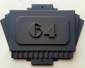 American Horror Story: Hotel - Room 64 door plaque replica (unpainted resin casting)
