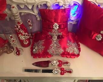 Royal red quinceniera package