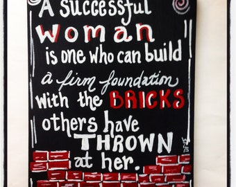 Successful Woman Painting