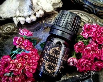 NEW! HECATE oil ~ All Natural Essential Oil Perfume 5ml ~ 10ml ~ 15ml by Nightshade Botanicals