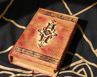 Book Stash Box~Hidden Box~Herb Box~Tarot Box~Secrets and Sacred Things