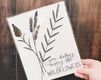 Print: Wildflowers