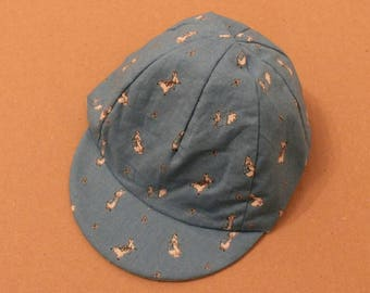 Children's Peter rabbit cycling cap