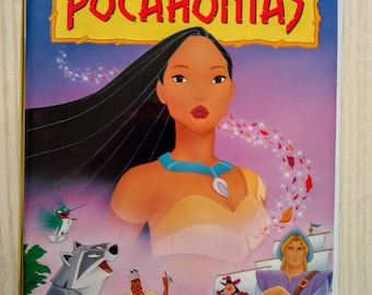 Pocahontas Disney VHS Movie Clamshell