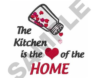 Heart Of Home - Machine Embroidery Design