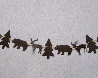 Woodland Animal Garland