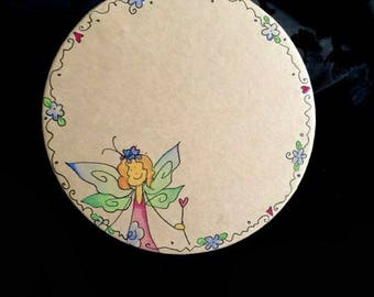 Gift Box One off, one of a kind, Fairy Gift Box trinket box. I can add any name or message to the box for you