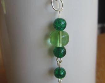 Forest Greens Dangle Pendant
