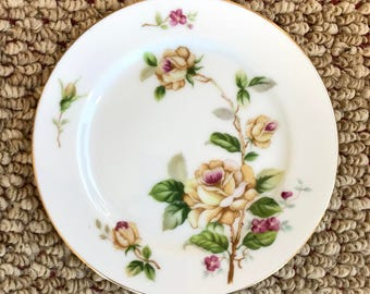 Golden Rose by Lynmore |Bread & Butter Plate | Fine China (Japan)