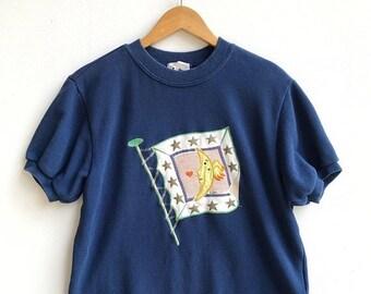 "20% OFF Vintage Lancel Sport T Shirt / Lancel Clothing / Lancel Shirt / Armpit 21.5"""
