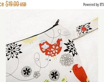 Memorial Day Sale 14 x 14 - Sweet Spulen Nasser Sack - Starling - Naht versiegelt - Snap Armband