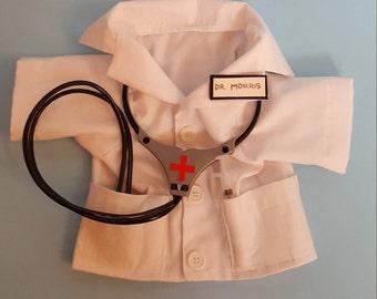 Dog Doctor Lab Coat Costume, Doctor Lab Coat Dog Costume, Pet Doctor Lab Coat Costume, Doctor Lab Coat Pet Costume, Puppy Lab Coat Costume